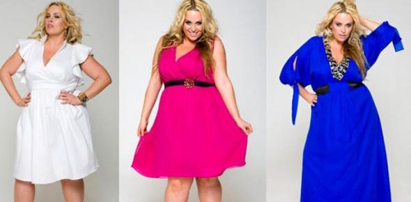 Платья полных молодых девушек